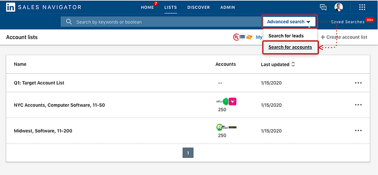How to Build a Target Account List - FoxBound - Step 2