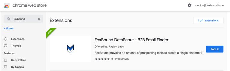 FoxBound chrome strore