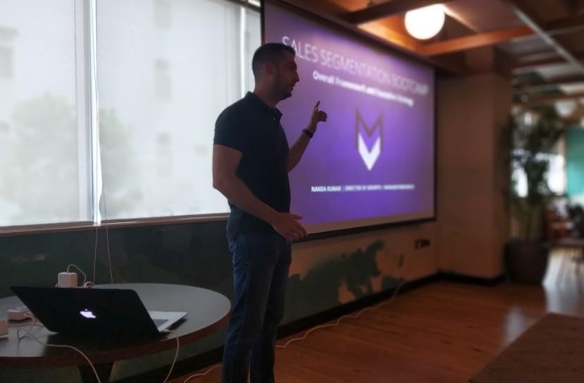Sales segmentation bootcamp