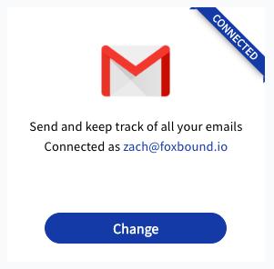 FoxBound Gmail Integration