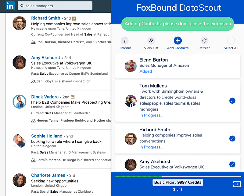DataScout added
