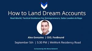 B2B Sales Dream Accounts